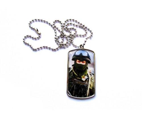 Жетон армейский с фото