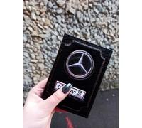 Обложка-портмоне (кошелёк) для автодокументов кожа флотер
