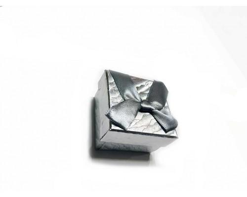 Коробочка под брелок №1 серебро