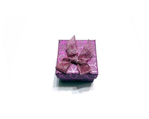Коробочка под брелок №8 фиолетовая