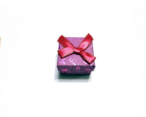 Коробочка под брелок №10 фиолетовая