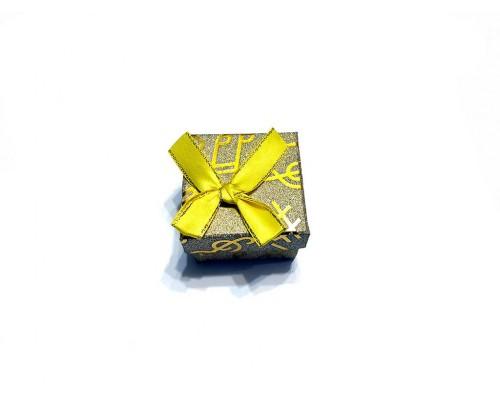 Коробочка под брелок №11 желтая