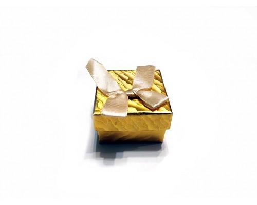 Коробочка под брелок №2 золото