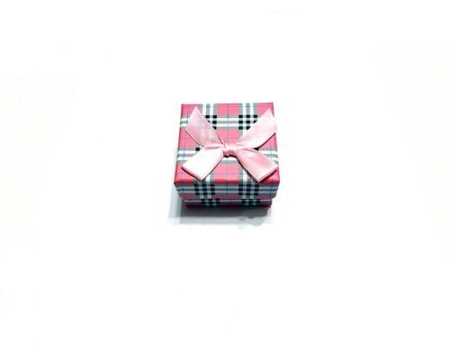 Коробочка под брелок №4 розовая