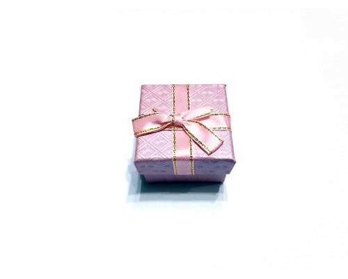 Коробочка под брелок №7 розовая