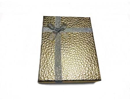 Подарочная коробочка для обложки золотая