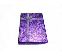 Коробочка для обложки №1 фиолетовая